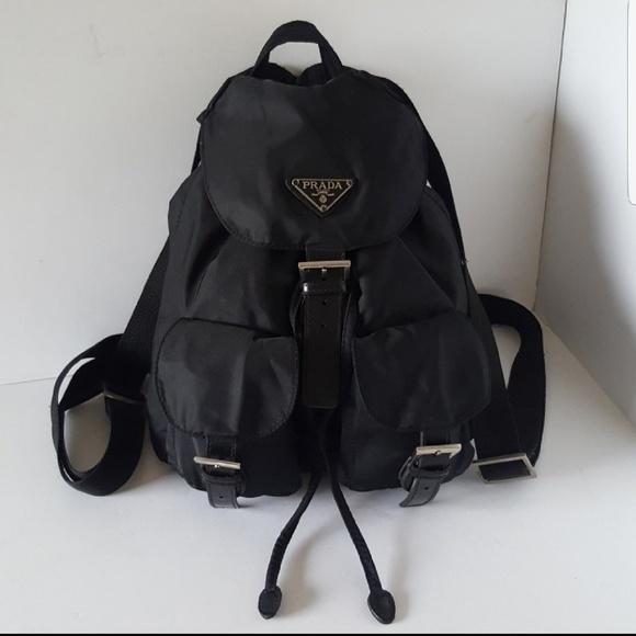 5ac90fb0d10a Prada Bags | Backpack Vip Gift Black Nylon Sport | Poshmark